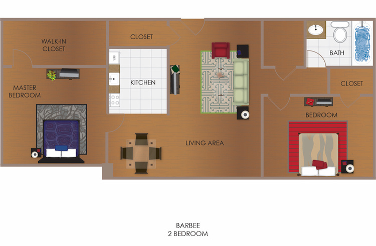 Barbee 2 Bedroom