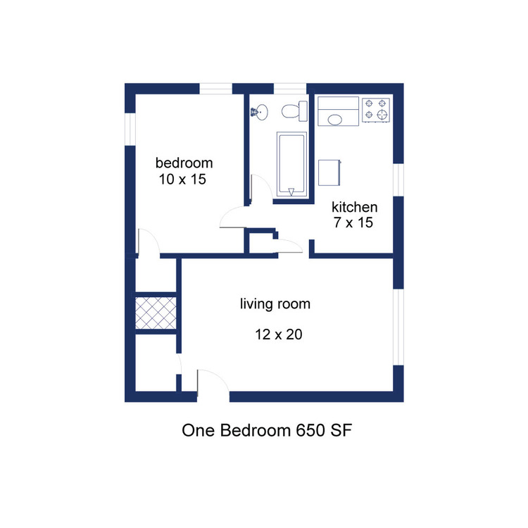 Windsor 1 Bedroom