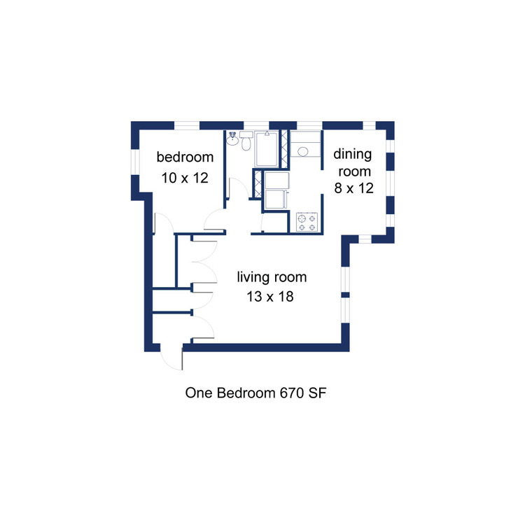 Rotherwood 1 Bedroom B